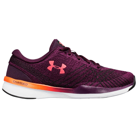 UNDER ARMOUR WOMEN'S THREADBORNE PUSH TRAINER PURPLE TRAINING SHOE