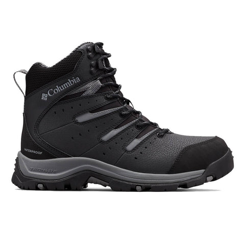 COLUMBIA MEN'S GUNNISON II OMNI-HEAT -32C WATERPROOF WINTER BOOT BLACKGREY