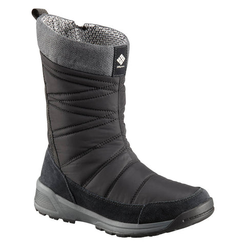 COLUMBIA WOMEN'S MEADOWS -32C WATERPROOF SLIP WINTER BOOT BLACK