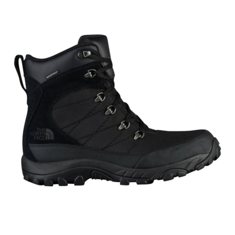 THE NORTH FACE MEN'S CHILKAT WINTER BOOT NYLON BLACK/BLACK SIDE