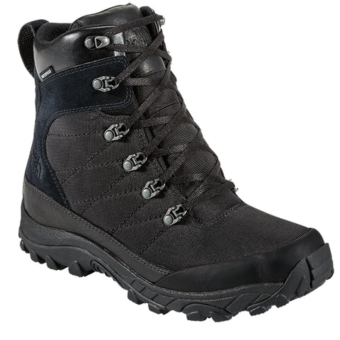 THE NORTH FACE MEN'S CHILKAT WINTER BOOT NYLON BLACK/BLACK