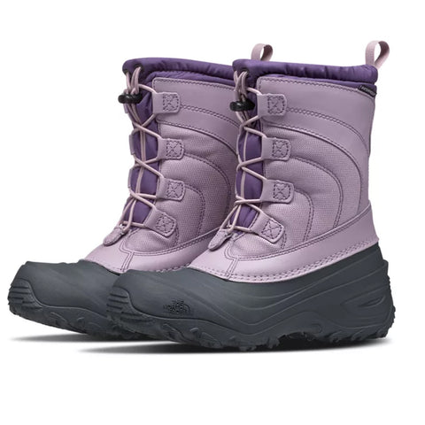 THE NORTH FACE GIRLS ALPENGLOW IV WINTER BOOT PURPLE/LOGANBERRY