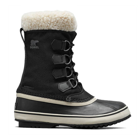 SOREL WOMEN'S WINTER CARNIVAL -32C WATERPROOF WINTER BOOT BLACK