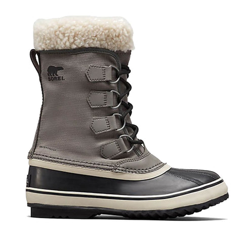 SOREL WOMEN'S WINTER CARNIVAL -32C WATERPROOF WINTER BOOT QUARRY/BLACK