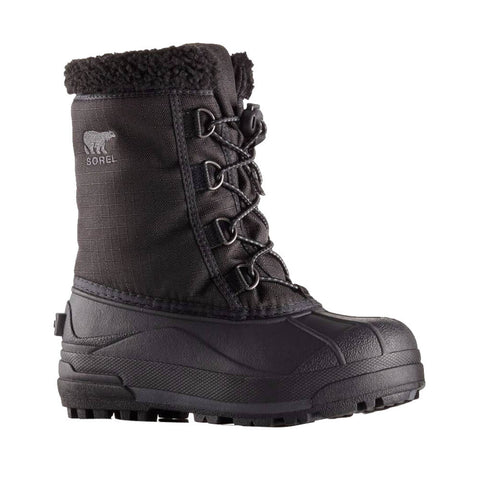 SOREL BOYS CUMBERLAND -32C WATERPROOF WINTER BOOT BLACK