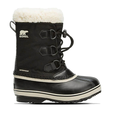 SOREL BOYS YOOT PACK NYLON -40C WATERPROOF WINTER BOOT BLACK