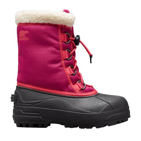 SOREL GIRLS CUMBERLAND -32C WATERPROOF WINTER BOOT DEEP BLUSH