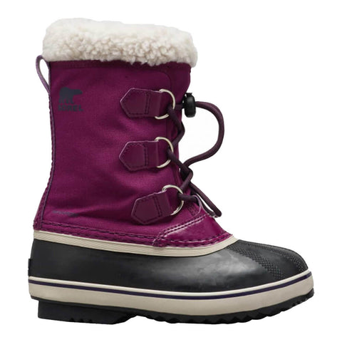 SOREL GIRLS YOOT PACK NYLON -40C WATERPROOF WINTER BOOT WILD IRIS