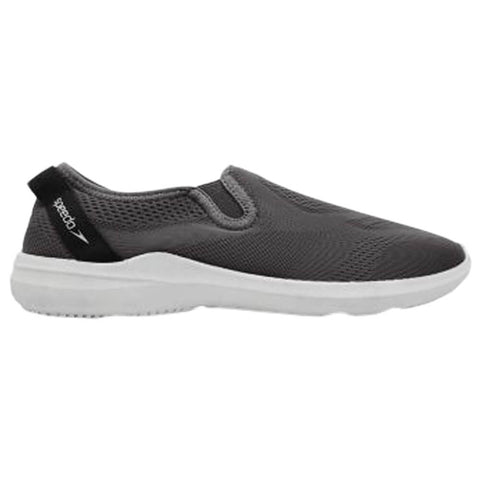 SPEEDO WOMEN'S SURFWALKER PRO MESH SLIDE DARK GREY/WHITE