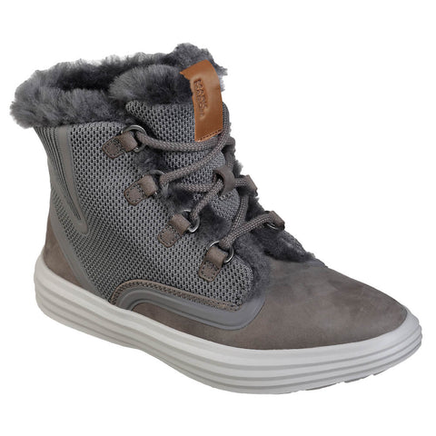SKECHERS WOMEN'S SHOGUN - NELLIE WINTER BOOT GREY