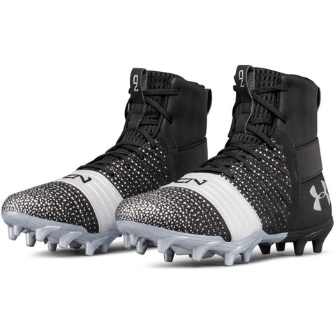 UNDER ARMOUR JUNIOR C 1N MC FOOTBALL CLEAT BLACK