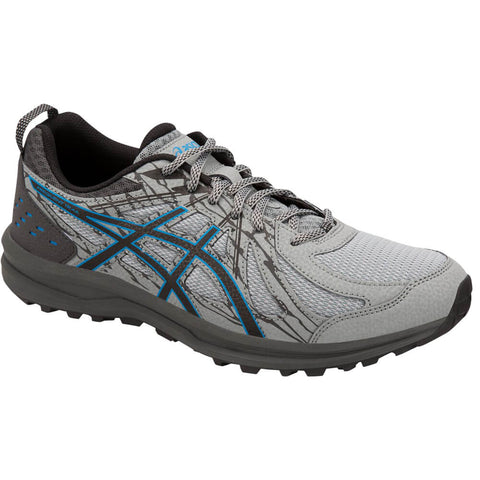 ASICS MEN'S FREQUENT TRAIL RUNNING SHOE STONE GREY/STONE GREY