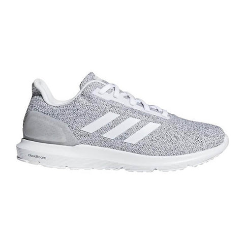 ADIDAS MEN'S COSMIC 2 RUNNING SHOE WHITE/WHITE/GREEN