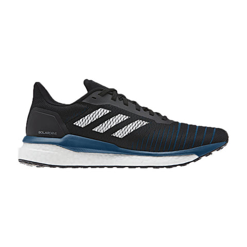 ADIDAS MEN'S SOLAR DRIVE RUNNING SHOE BLACK/WHITE