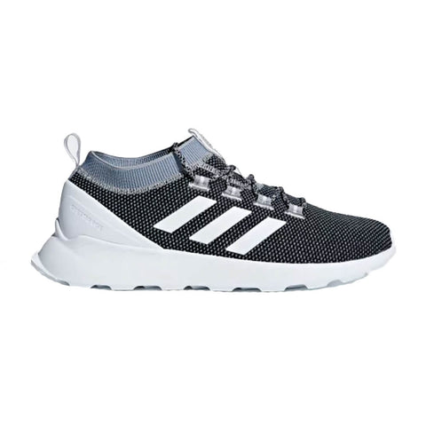 ADIDAS MEN'S QUESTAR RISE RUNNING SHOE BLACK/WHITE/GREY