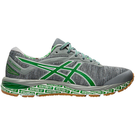ASICS MEN'S GEL CUMULUS 20 RUNNING SHOE STONE GREY/WHITE