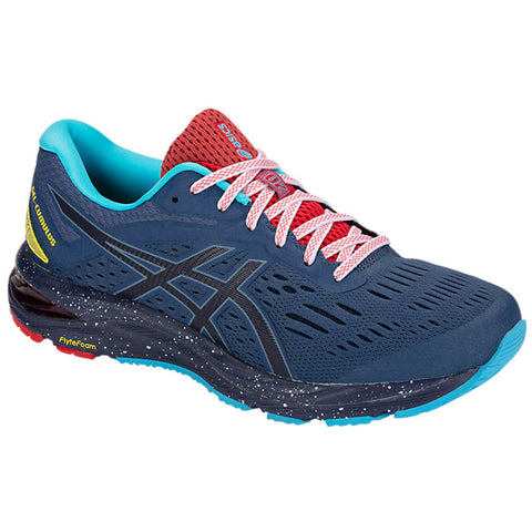 ASICS MEN'S GEL CUMULUS 20 RUNNING SHOE MARATHON GRAND SHARK/PEACOAT