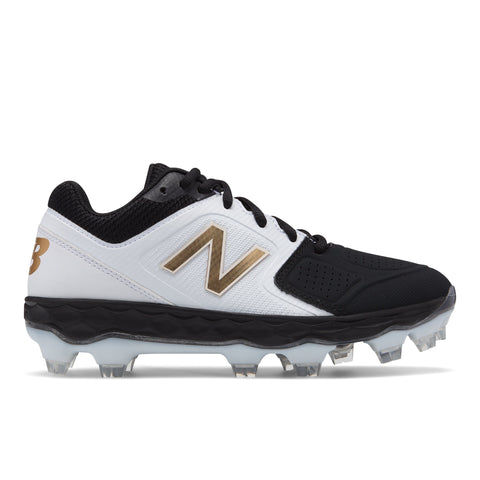 NEW BALANCE WOMEN'S SPVELO V1 TPU BASEBALL CLEAT BLACK/BLACK
