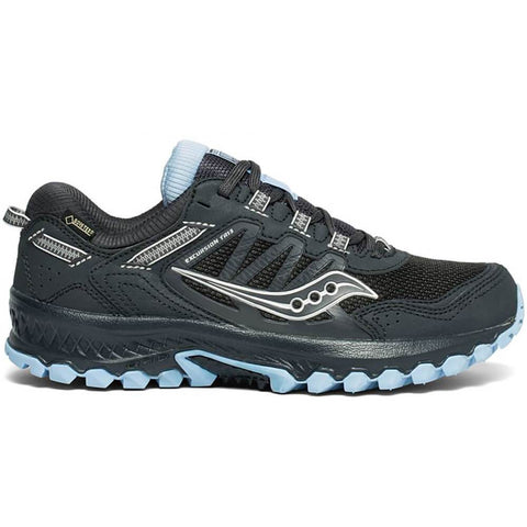 SAUCONY WOMEN'S EXCURSION TR GTX RUNNING SHOE BLACK/CHARCOAL