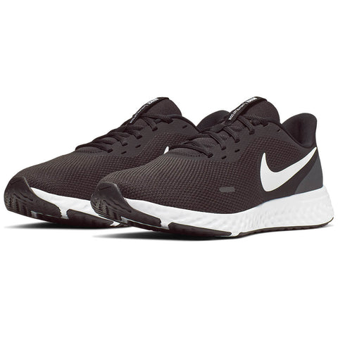 NIKE MEN'S REVOLUTION 5 WIDTH 4E RUNNING SHOE BLACK/WHITE/ANTHRACITE