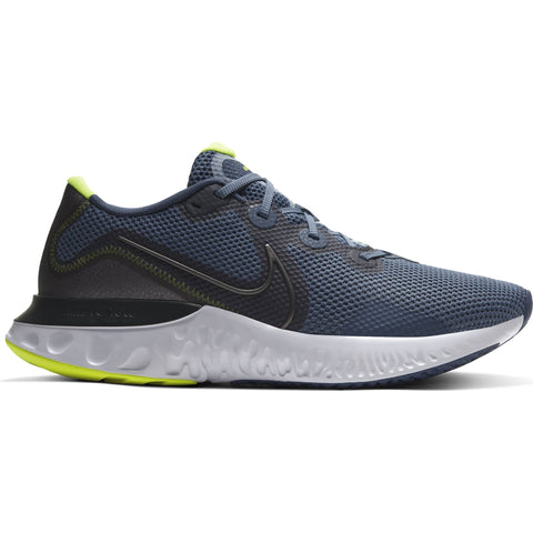 NIKE MEN'S RENEW RUN RUNNING SHOE BLUE/DARK GREY