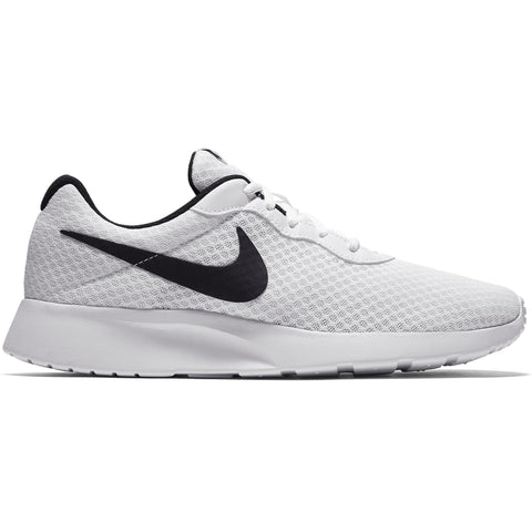 NIKE MEN'S TANJUN LIFESTYLE SHOE WHITE/BLACK