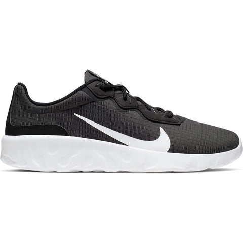 NIKE MEN'S EXPLORE STADA LIFESTYLE SHOE BLACK/WHITE