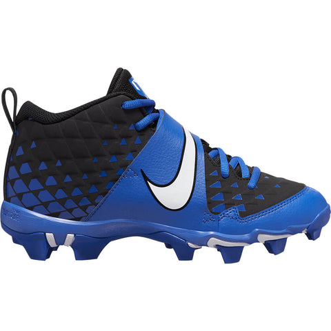 NIKE JUNIOR FORCE TROUT 6 KEYSTONE BG BASEBALL SHOE ROYAL/WHITE/BLACK