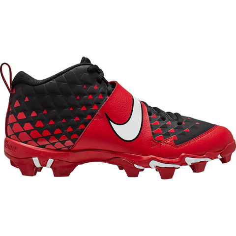 NIKE MEN'S FORCE TROUT 6 KEYSTONE BASEBALL CLEAT RED/WHITE