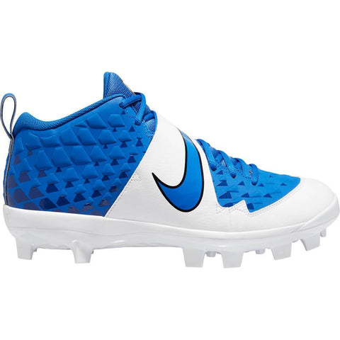 NIKE MEN'S FORCE TROUT 6 PRO MCS BASEBALL CLEAT ROYAL/WHITE