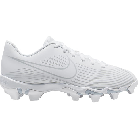 NIKE WOMEN'S HYPERDIAMOND 3.0 KEYSTONE BASEBALL CLEAT WHITE/WHITE