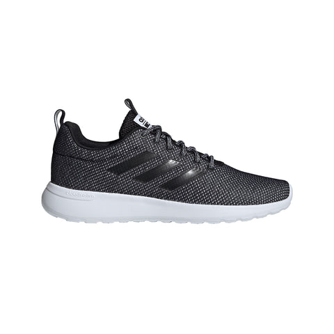 ADIDAS MEN'S LITE RACER CLN RUNNING SHOE BLACK/BLACK/WHITE