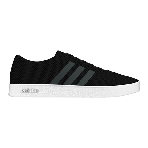 ADIDAS MEN'S EASY VULC 2.0 LIFESTYLE SHOE BLACK/GREY/WHITE