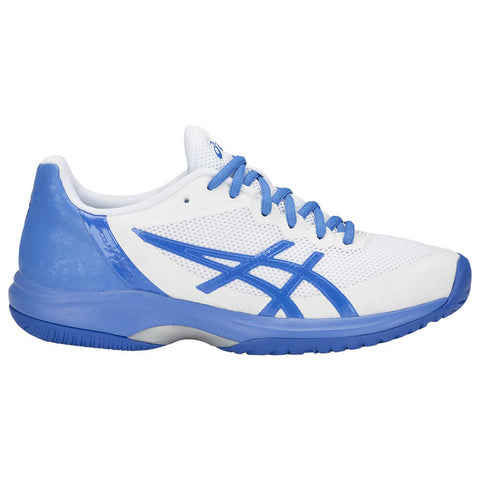 ASICS WOMEN'S GEL COURT SPEED TENNIS SHOE WHITE/BLUE