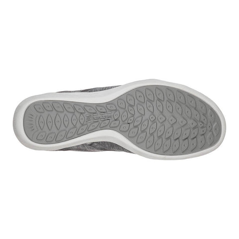 SKECHERS WOMEN'S NEWBURY ST. LIFESTYLE SHOE GREY SOLE
