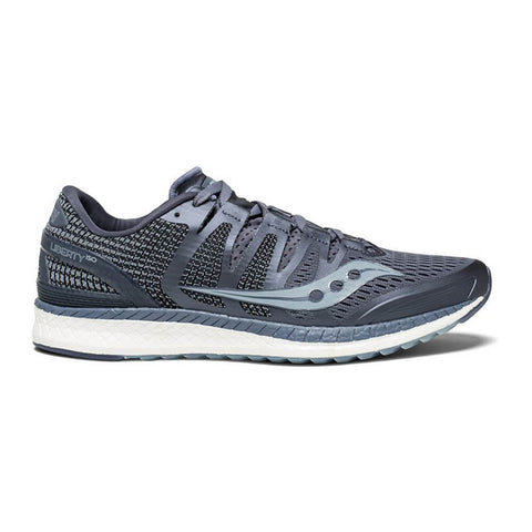 SAUCONY MEN'S LIBERTY ISO RUNNING SHOE GREY/FOG