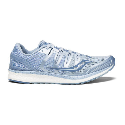 SAUCONY WOMEN'S LIBERTY ISO RUNNING SHOE FOG/BLUE