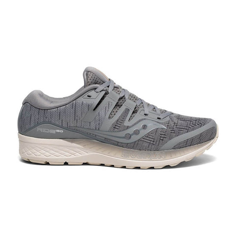 SAUCONY MEN'S RIDE ISO RUNNING SHOE GREY SHADE