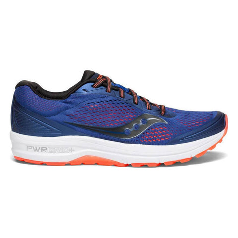 SAUCONY MEN'S CLARION RUNNING SHOE BLUE/VIZIRED