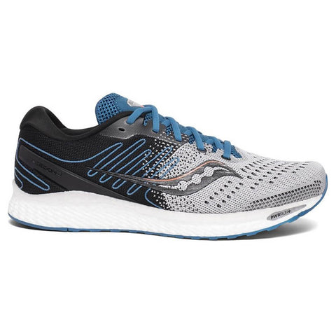 SAUCONY MEN'S FREEDOM 3 RUNNING SHOE GREY/BLUE