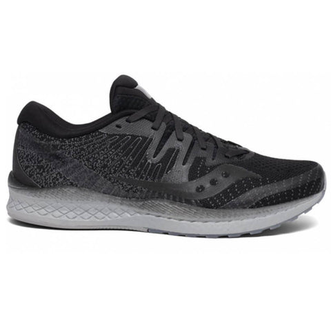 SAUCONY MEN'S LIBERTY ISO 2 RUNNING SHOE BLACKOUT