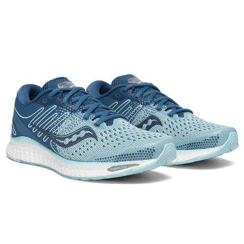 SAUCONY WOMEN'S FREEDOM 3 RUNNING SHOE AQUA/BLUE