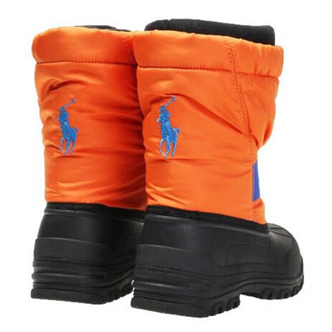 POLO BOYS JAKSON WINTER BOOT ORANGE ROYAL
