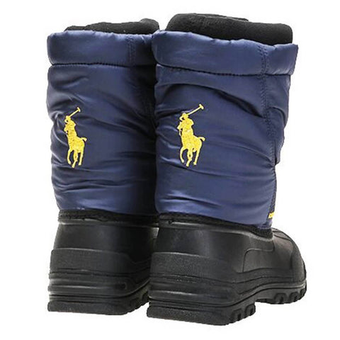 POLO BOYS JAKSON WINTER BOOT NAVY/YELLOW
