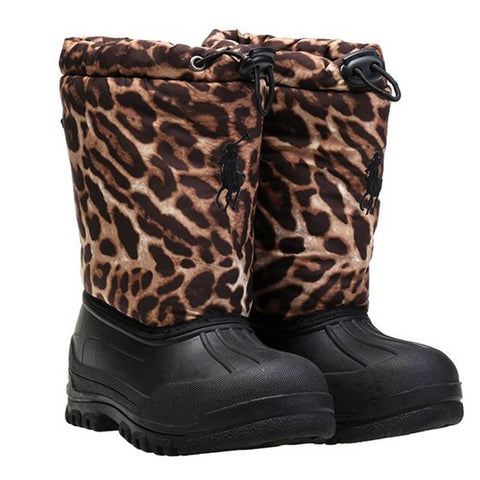POLO GIRLS VALE WINTER BOOT OCELOT