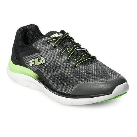 FILA MEN'S MEMORY EXOLIZE 2 RUNNING SHOE CSRK/BLACK/GGKO