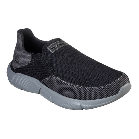 SKECHERS MEN'S INGRAM-SOARD LIFESTYLE SHOE BLACK