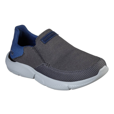SKECHERS MEN'S INGRAM-SOARD LIFESTYLE SHOE CHARCOAL
