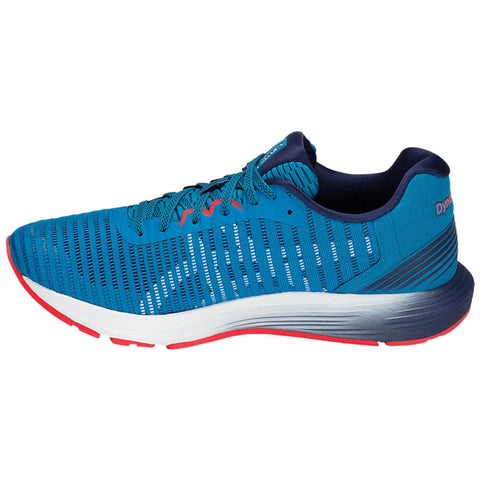 ASICS MEN'S DYNAFLYTE 3 RUNNING SHOE RACE BLUE/WHITE