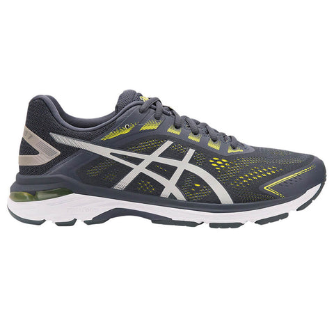 ASICS MEN'S GT-2000 7 RUNNING SHOE TARMAC/LEMON SPARK